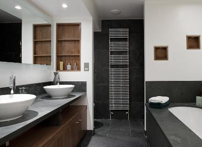 Contemporary bathroom design and installation